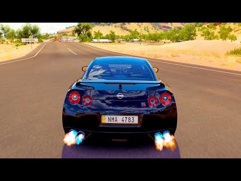 Forza Horizon 3 - NISSAN GT-R GODZILLA - Logitech G29
