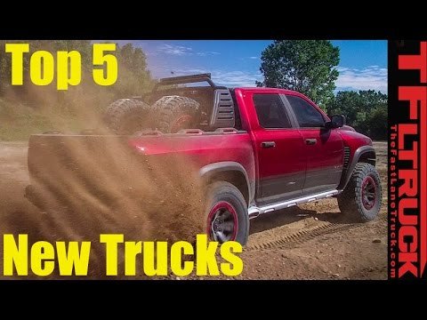 Top 5 Upcoming New Trucks We Can\'t Wait to Drive!