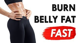 8 Minute FULL Body Workout (Burn Belly Fat, Get Bigger Butt & Lean Thighs) |  The Metabolism Booster