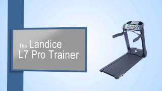 landice l7 pro trainer treadmill review