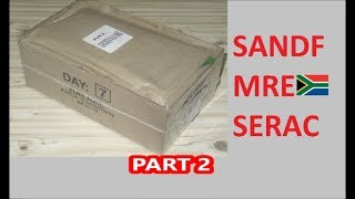 South African Ration Review: 2018 SANDF 24H MRE Menu 7 Part 2 of 2