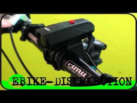 Sonnette Vélo électronique Ultra Puissante 110 DB