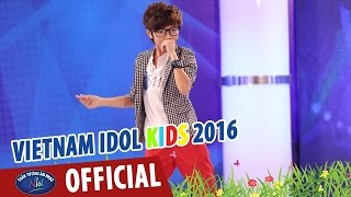 vietnam idol kids - than tuong am nhac nhi 2016 - tap 2 - happy - thien tung