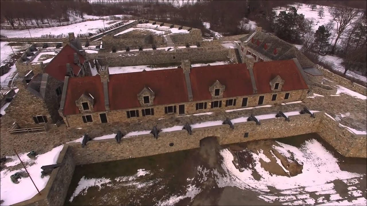 Fort Ticonderoga Aerial Video Youtube