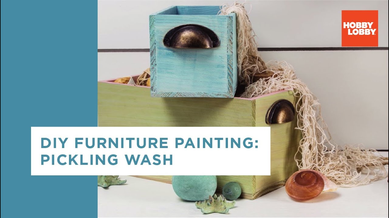Great DIY Furniture Painting: Pickling Wash