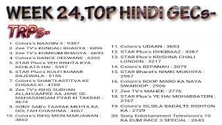 Top hindi tv shows | barc trp ratings | week 24