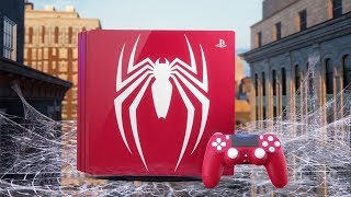 Spider-Man PS4 Pro 4K Details and Limited Edition Announced