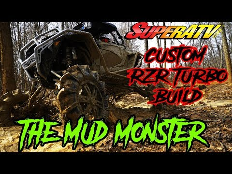 In Depth Look at Polaris RZR XP Turbo - Mud Build - SuperATV