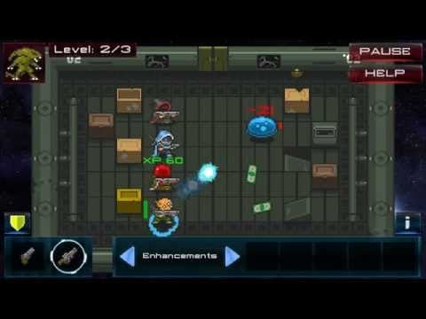 Space Bounties Inc. - Gameplay - Indie Android Scifi Roguelike