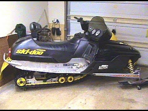 2000    Ski       Doo    MXZ 700 Cold Start  YouTube