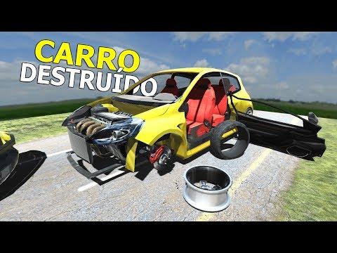 GAME DE DESTRUIR OBJETOS, DEPENEI O CARRO E ELE EXPLODIU! Disassembly 3d