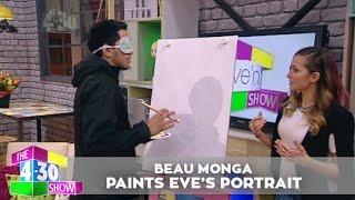 Beau Monga paints a portrait of Eve