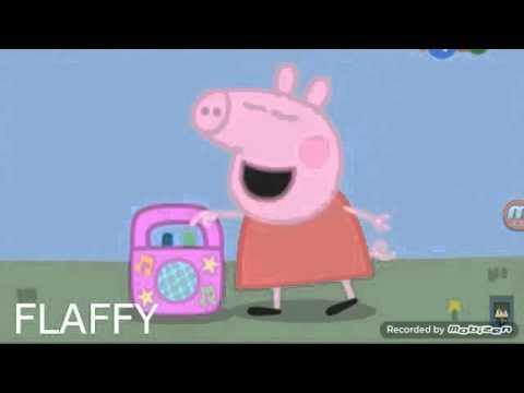 Свинка пепа танцует под музыку лада седай баклажан