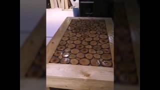 تكملة عمل طقم طاولات بتكلفة منخفظة وفكرة جديدة2