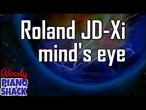 Roland JD-Xi synthesizer does New Age | Mind's eye