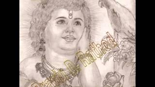 shree krishna drawing slide