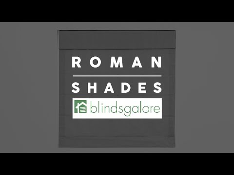 What are the Different Types of Roman Shades?