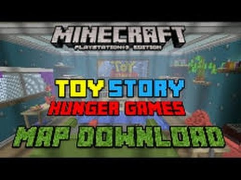 minecraft ps3 ps4 toy story hunger games map w download. Black Bedroom Furniture Sets. Home Design Ideas