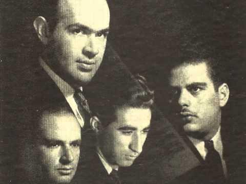 Stuyvesant string quartet with Al Gallodoro, Brahms Clarinet Quintet in B Minor, Op. 115: I. Allegro