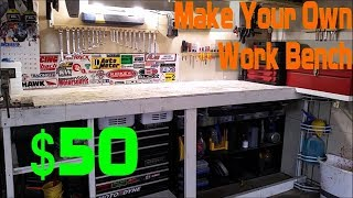 homepage tile video photo for Make Yourself a Custom Work Bench (Episode 2)