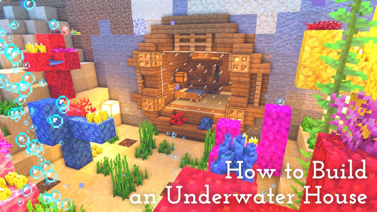 [Minecraft]  How To Build An Underwater House