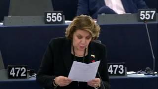 Intervento in aula di Caterina Chinnici sulla violazione dei dati Europol sui fascicoli relativi alle indagini sul terrorismo