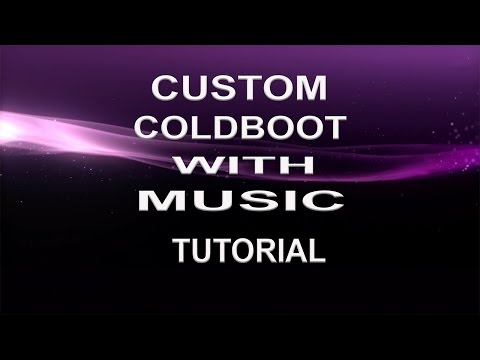 HOW TO MAKE A CUSTOM COLDBOOT WITH MUSIC PS3 CFW