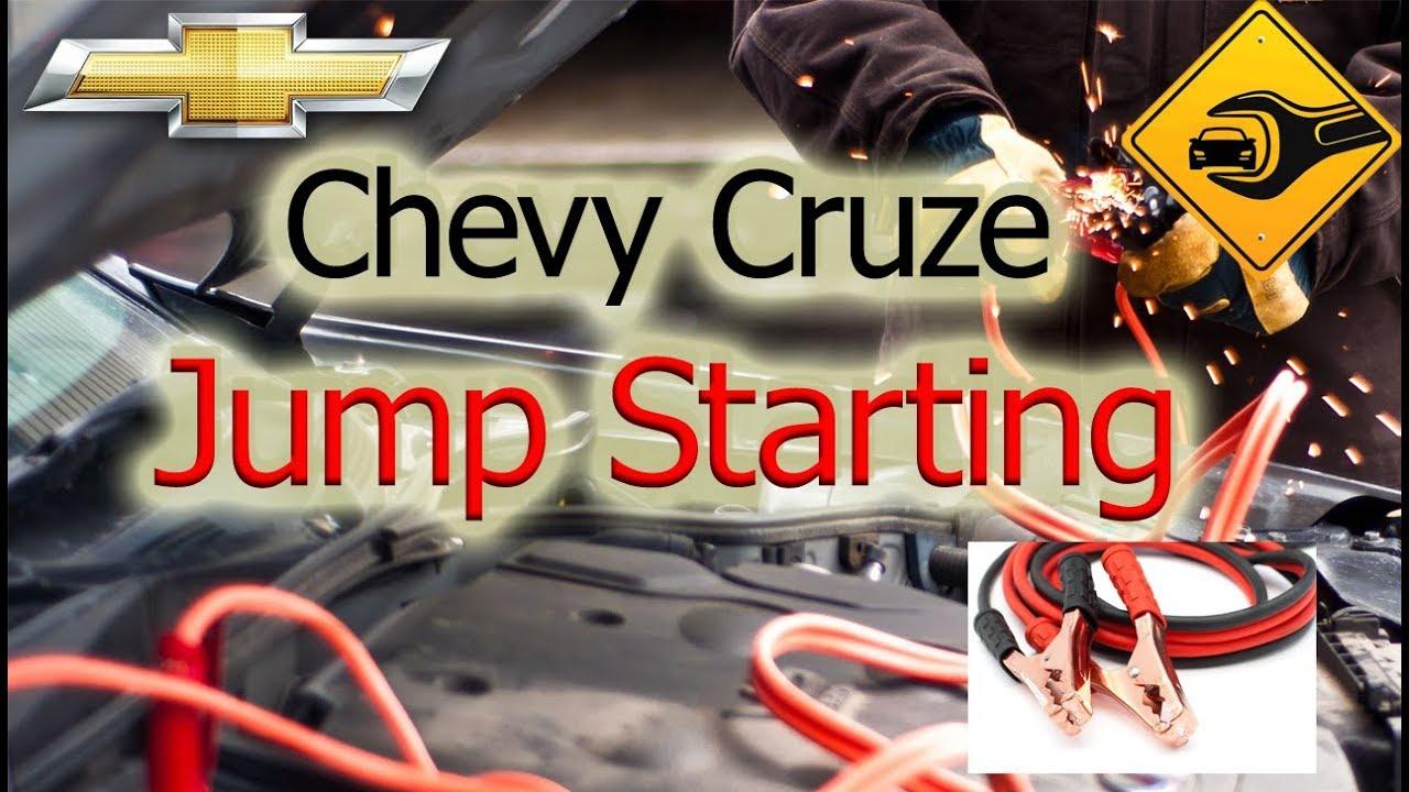 medium resolution of chevrolet cruze jump starting