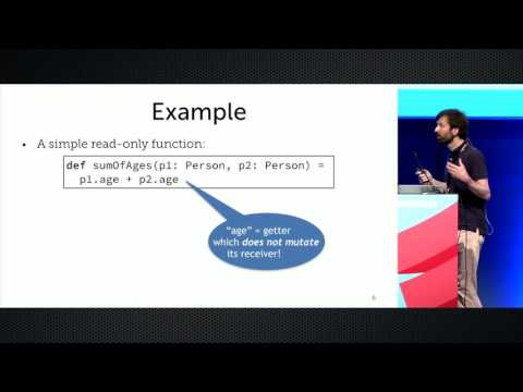 Quantifying and Explaining Immutability in Scala   by Philipp Haller