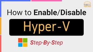 Enable/Disable Hyper-V