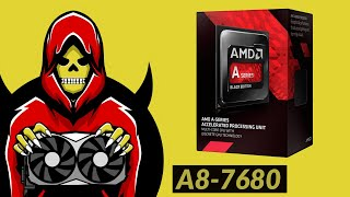 AMD A8-7680 APU Test in 8 Games