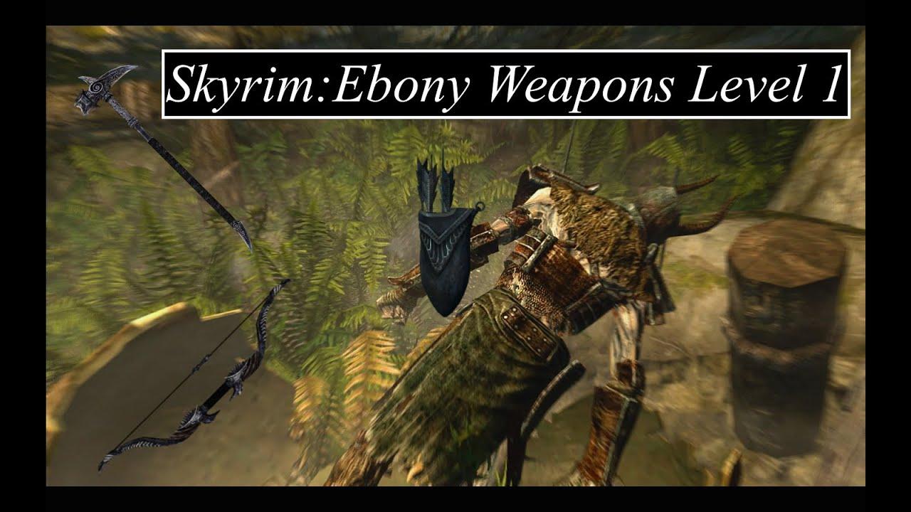 How to get ebony in skyrim