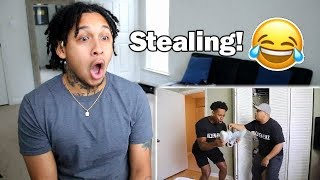 """DashieXP """"GHETTO CLEANING SERVICE"""" Reaction!!"""