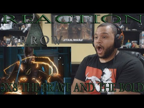 Arrow - 3x8 - The Brave And The Bold - REACTION!!