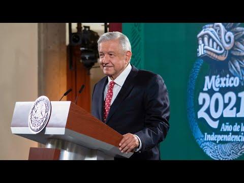 Conferencia de prensa en vivo, desde Palacio Nacional. Lunes 5 de julio 2021 | Presidente AMLO