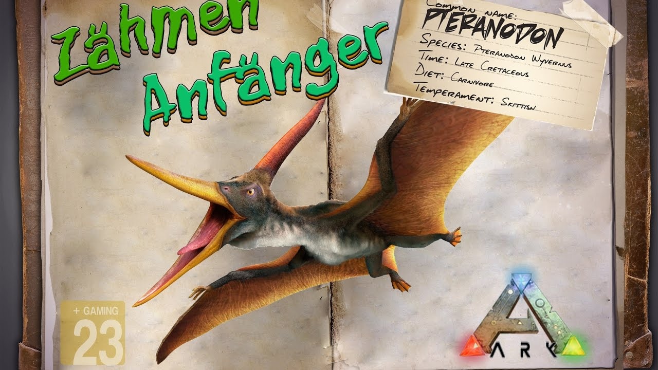 ark survival evolved guidedeutsch pteranodon zhmen fr anfnger youtube - Hai Krperkissen Das Dich Isst