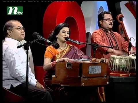 Bangla Musical Show - Je Gaan Gourobe Bohoman l subir nandi, Parvin Sultana
