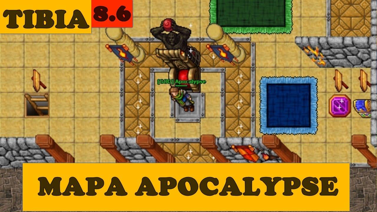 Mapa Apocalypse 8 6 Open Tibia Server Youtube