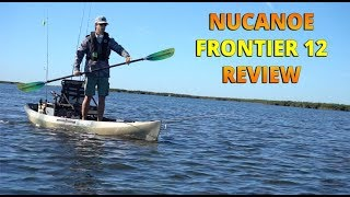 NuCanoe Frontier 12 Kayak On the Water Review