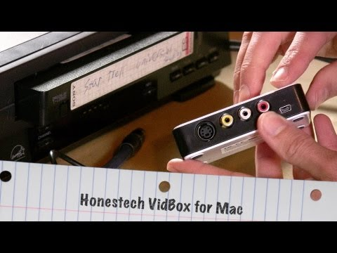 Honestech Vidbox for Mac Review - Capture VHS VCR and other analog footage