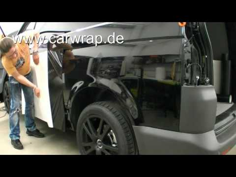 vw t5 carbon car wrap youtube. Black Bedroom Furniture Sets. Home Design Ideas