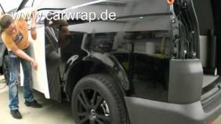 VW T5 Carbon Car-Wrap