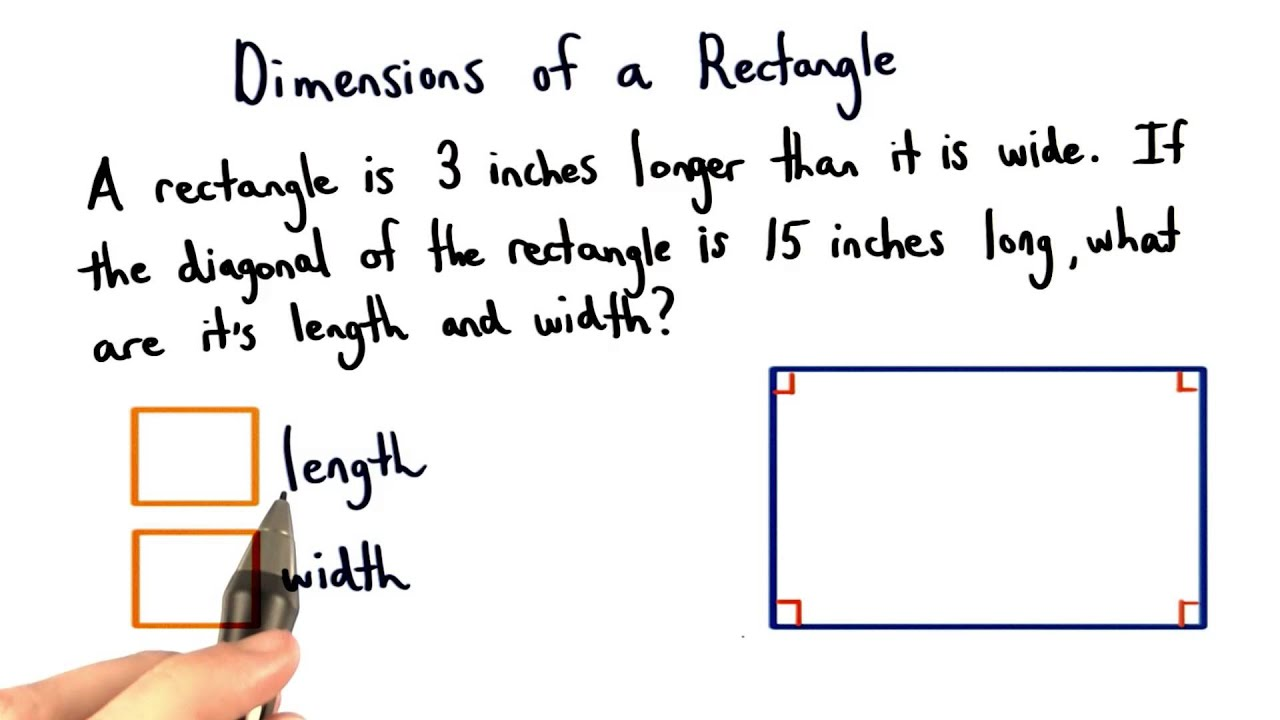 how to keep a rectangle