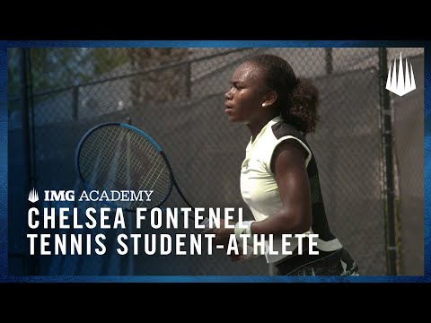 Chelsea Fontenel Shares Her Experience as a Tennis Student-Athlete