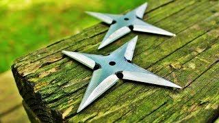 Making Throwing Stars/Shuriken  (short version)