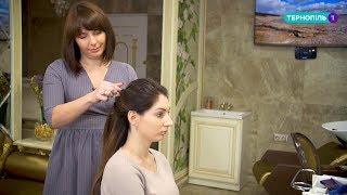 як самої зробити начісування на довге волосся
