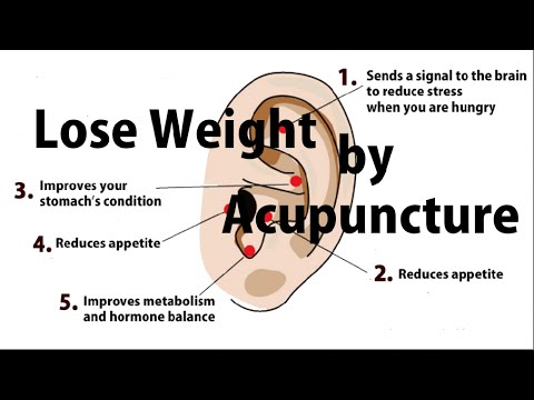 Lose weight by acupressure earrings easy simple japanese method to control appetite youtube also rh