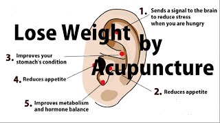 Lose Weight by Acupressure Earrings | Easy, Simple Japanese Method to control appetite