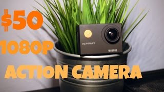Unbelievable $50 1080p Action Camera – REVIEW AND FOOTAGE (better than GoPro?)