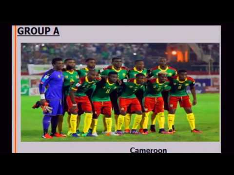 football scores : Fantastic schedule automatic African cup of nations 2016 2017 Gabon,  soccer games